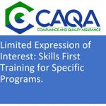 Our webinar related to Skills First – By CAQA Experts